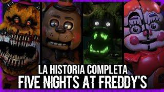 La Historia Completa de Five Nights At Freddy's   TEORÍA   (2014 - 2018) #ClashYoutuber