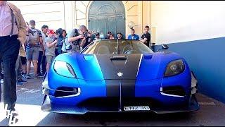 $3million Koenigsegg One:1 CAUSES CHAOS in Monaco!!!