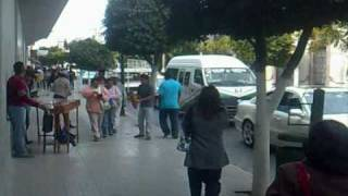 preview picture of video 'Tehuacán, Puebla. Av. Independencia'