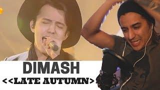 THE SINGER 2017 Dimash 《Late Autumn》Ep.4 Single 2017 0211 | Reaction