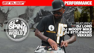 SPIN around the World Vol.III feat. DJ Lord, DJ MooDy Mike, DJ Stylewarz, Vekked