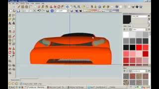 Google sketchup tutorial building a car from blueprints most how to make simple car in google sketchup tutorial malvernweather Choice Image