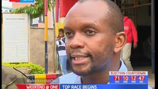 Presidential aspirant arrested after allegedly trying to commit suicide by jumping off IEBC offices
