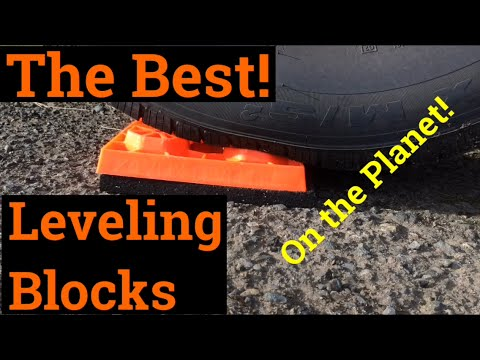 Best RV Leveling Blocks (and cheap)
