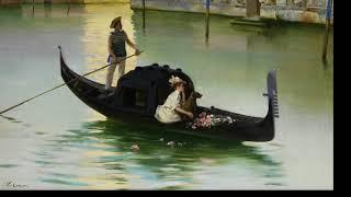 Итальянский художник Vittorio Matteo Corcos. (Часть 1).