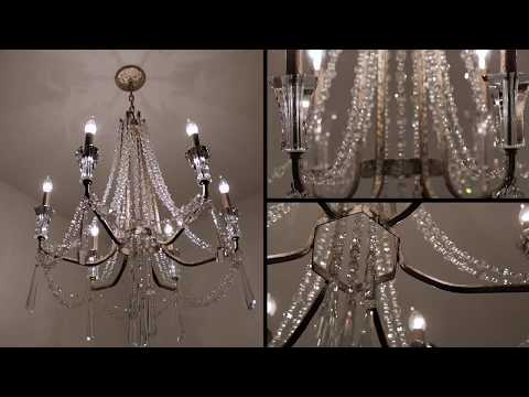 Video for Barcelona Transcend Silver Three Light Vanity