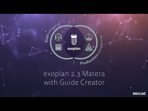exoplan 2 3 Matera with Guide Creator - exocad GmbH