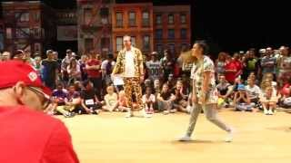 VEACESLAV [MDA] vs. CARMELINA [GER]   Quarterfinal Battle   IDO European Hip Hop Championships 2014