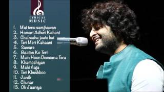 Best of Arijit singh 2016  latest arijit singh juke box   just listen the music pal