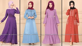Modaselvim Yazlık 2020 Günlük Tesettür Elbise Modelleri | Everyday Dress By Modanzi Tesettür