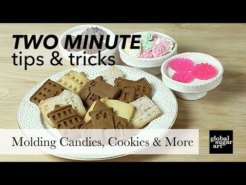 Molding - Using Silicone Molds with Gumpaste & Fondant by