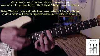 "Lessons (Sinead Harnett)   Guitar Lesson   ""charts On Guitar""   Episode 11"