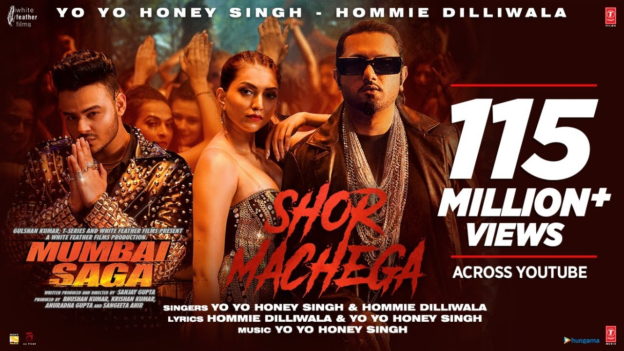 Shor Machega Song Mumbai Saga - Yo Yo Honey Singh, Hommie Dilliwala Lyrics