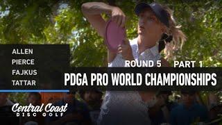 2021 World Championships - R5F9 - Allen, Pierce, Fajkus, Tattar