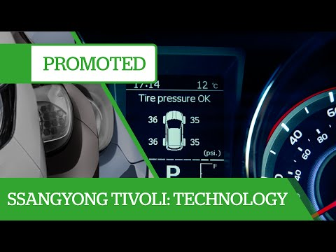 Promoted: Ssangyong Tivoli – brimming with technology