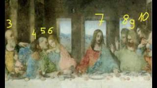 Another Secret Revealed !!! (Last Supper, Leonardo Da Vinci)