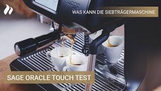 Sage Oracle Touch Test: Was kann die Hybrid-Siebträgermaschine? | roastmarket