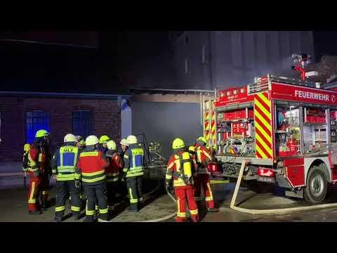 Feuerwehreinsatz Kronenwerke
