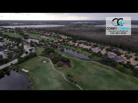 Heritage Bay Golf & Country Club Naples FL 360 Aerial Real Estate Homes & Condos