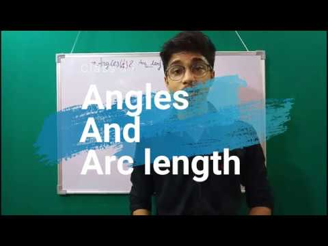 Angles and arc lengths