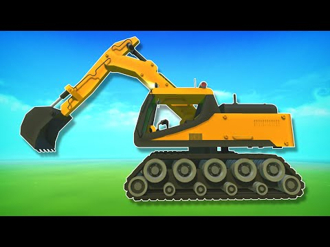 3 Builds That Use the Tank Tracks Mod! - Scrap Mechanic Creations!