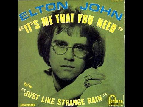 Elton John - It's Me That You Need (1969) With Lyrics!