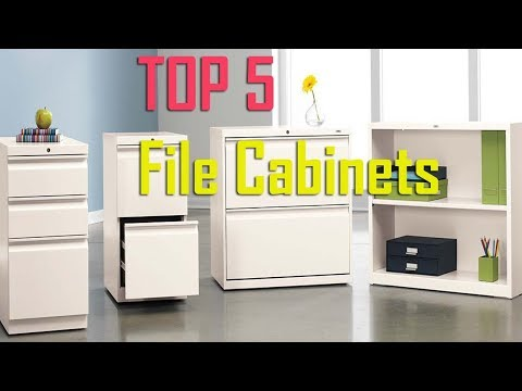 🔴5 Best File Cabinets to Buy in 2019 I Top 5 Best Office File Cabinets Review