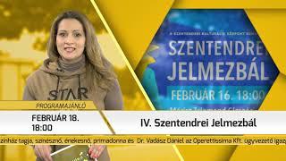 Programajánló / TV Szentendre / 2019.02.14.