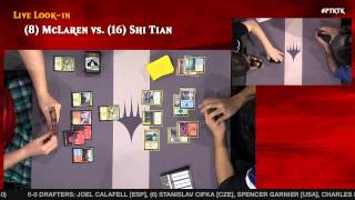 Pro Tour Khans of Tarkir Round 12 (Standard): Raphael Levy vs. Andrew Cuneo
