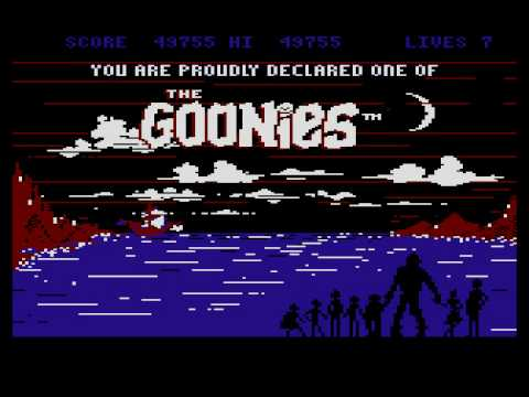 Atari XL/XE - The Goonies [Datasoft] 1985,,,,  (longplay)
