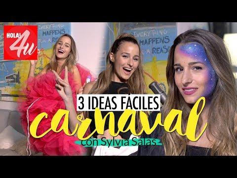 CARNAVAL: 3 ideas fáciles de disfraz  | Con Sylvia Salas