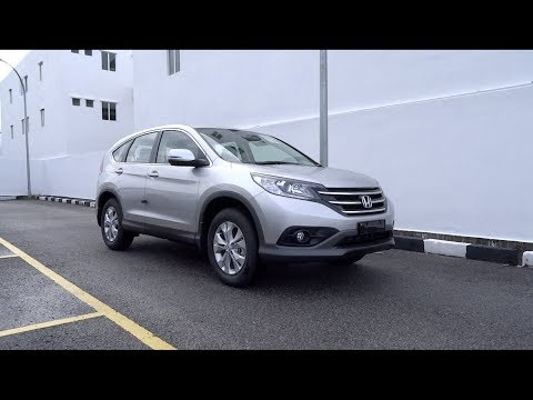 2013 Honda CR-V 2.0 Start-Up and Full Vehicle Tour