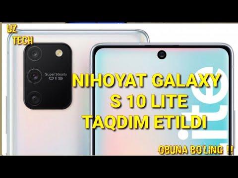SAMSUNG GALAXY S10 LITE -O'ZBEK TILIDA //TEXNIK XUSUSIYATLARI VA NARXI !!!