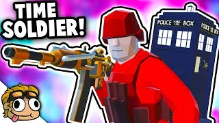 TIME SOLDIER w/ DR. WHO TARDIS! | Ravenfield Mod Gameplay