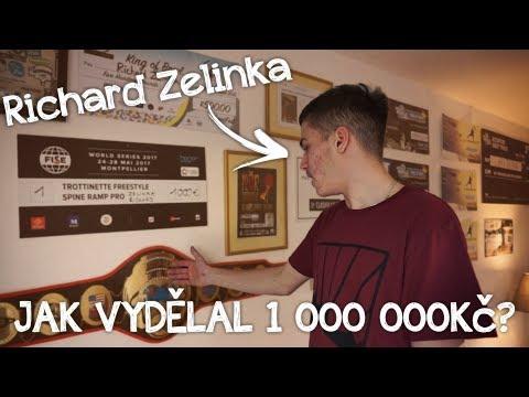 JAK SI RICHARD ZELINKA VYDĚLAL 1 000 000Kč?! | Scooter Check #2