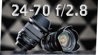 Image Stabilization For Video // Canon Or Sigma 24-70mm F/2.8?