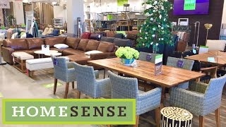 HOME SENSE FURNITURE SOFAS COUCHES ARMCHAIRS HOME DECOR SHOP WITH ME SHOPPING STORE WALK THROUGH