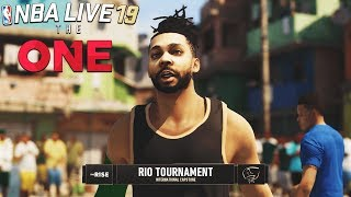 NBA LIVE 19 THE RISE EP 2 - RIO TOURNAMENT! | Vinsanity Wing Scorer