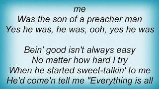 Aretha Franklin - Son Of A Preacher Man Lyrics