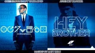Chris Brown Vs. Avicii - Don't Wake Me Up (Mashup)