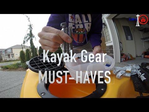 Kayak Fishing gear ESSENTIALS