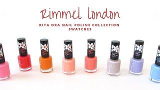 Gambar cover Rimmel London - Rita Ora Nail Polish Swatches | Christina Truong