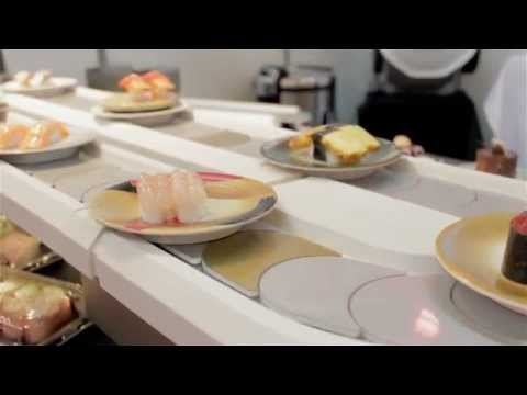 Product Focus: Sushi Machine's rice mixers, sushi robots and conveyor systems