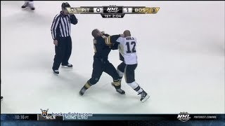 Jarome Iginla vs Nathan Horton Apr 20, 2013