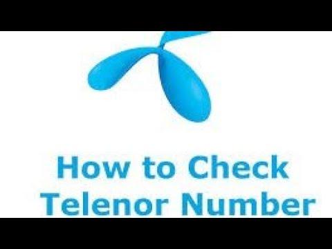 how to check telenor sim number - смотреть онлайн на Hah Life