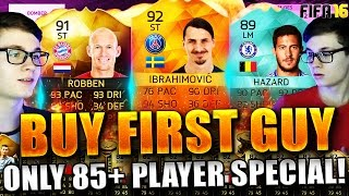 FIFA 16 BUY FIRST GUY DEUTSCH  FIFA 16 ULTIMATE TEAM  BUY FIRST GUY HOLY SHIT 85+ SPECIAL