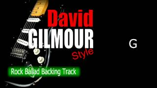 Rock Ballad David Gilmour Style Guitar Backing Track 67 Bpm Highest Quality