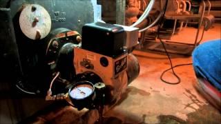 beckett oil burner with bad delay on start up