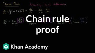 Chain Rule Proof
