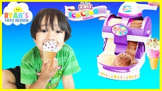 ICE CREAM MAKER Cra-Z-Art The Real 2 in 1 Ice Cream Machine Toy